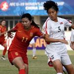 U19中国女足0-2负朝鲜