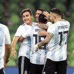 伊沃比两球阿圭罗破门 阿根廷2-4尼日利亚