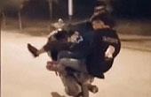 团伙飙车录视频挑衅警察