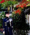 丁克森京都深秋写真 文艺十足的摇滚少年