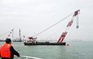 广东珠江口两货船相撞