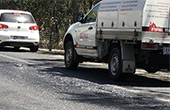 澳洲超40度高温热化马路