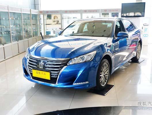 丰田皇冠现最高优惠2万元