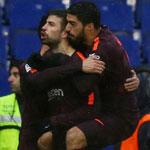 梅西助攻皮克破门救主 巴萨1-1西班牙人