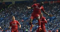 英超-利物浦2-1莱斯特城 马内状态火热