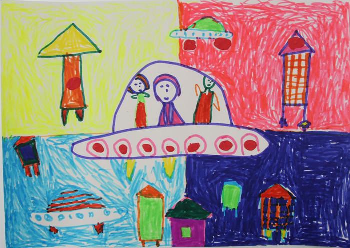 儿童画 700_496